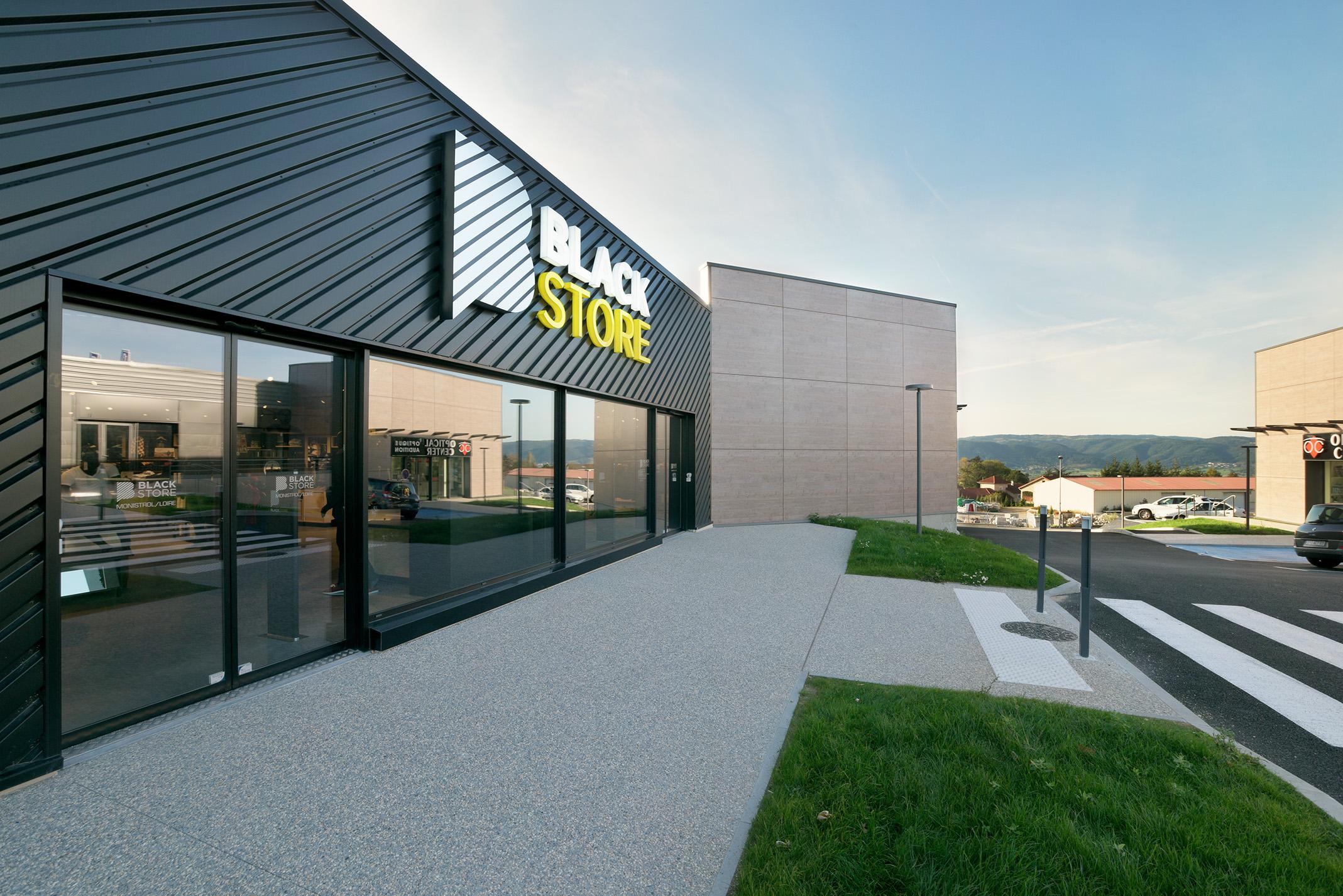 Création d'un retail-park en Auvergne