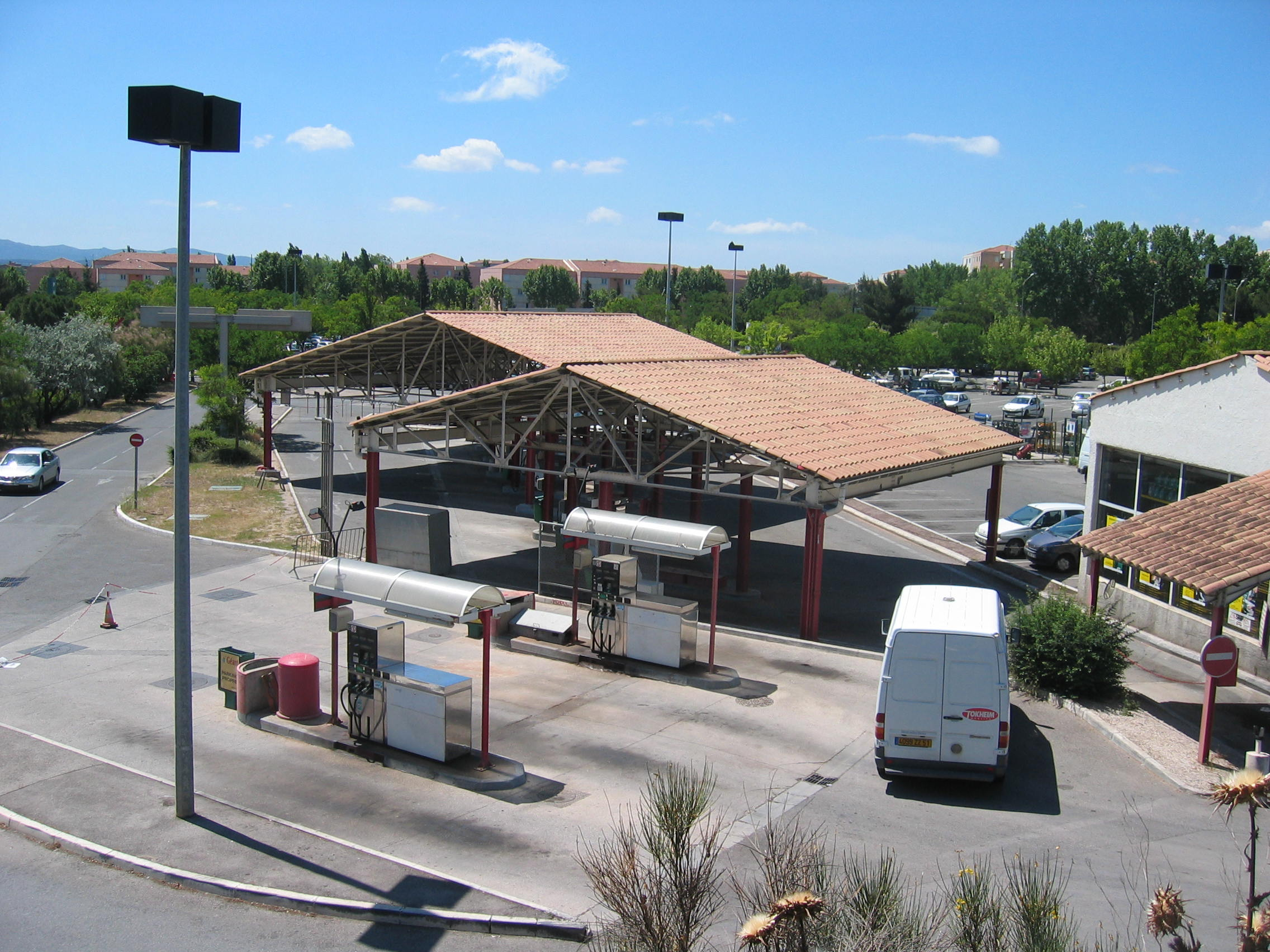 Station service d'Aix En Provence