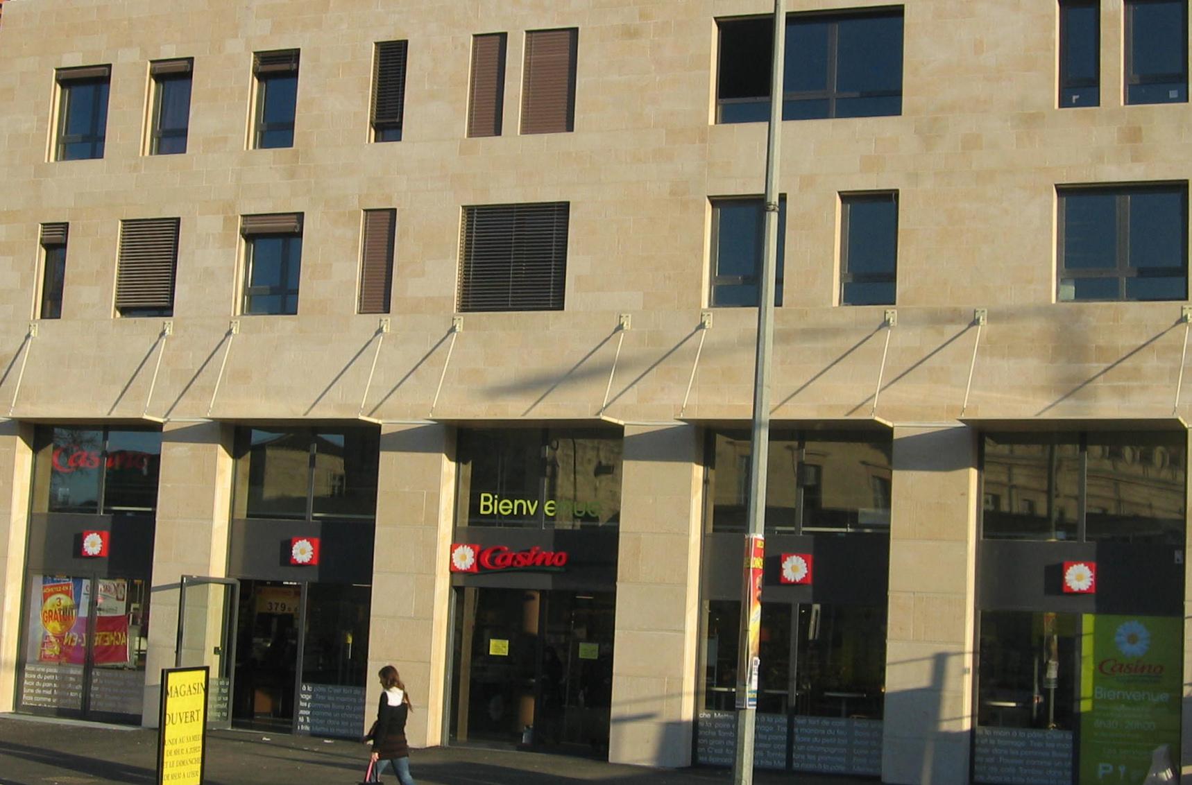 Extension et réaménagement du supermarché intra-urbain d'Avignon