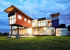 La maison container construction rapide et economique