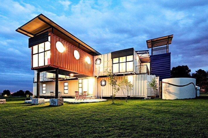 la maison container : veritable concept pour une construction rapide