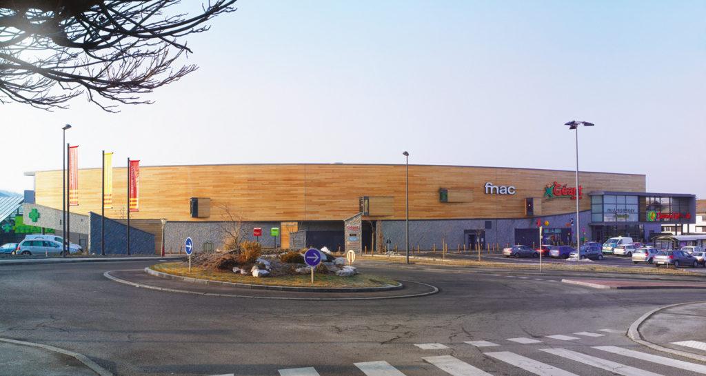 cimaise architectes agrandit le centre commercial d'annemasse